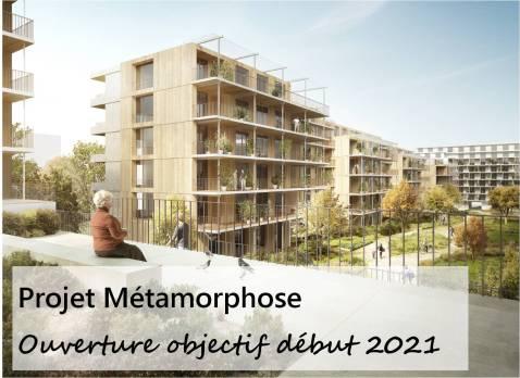 Métamorphose ouverture objectif début 2021