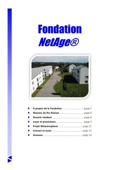Présentation Fondation NetAge